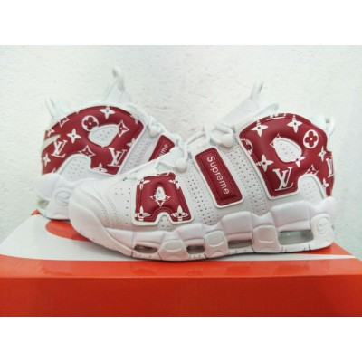 """Nike Air More Uptempo """"Suptempo"""" Red White Shoes"""