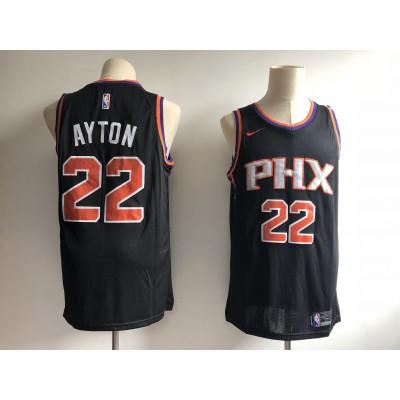 NBA Suns 22 Deandre Ayton Black 2018 NBA Draft Nike Men Jersey