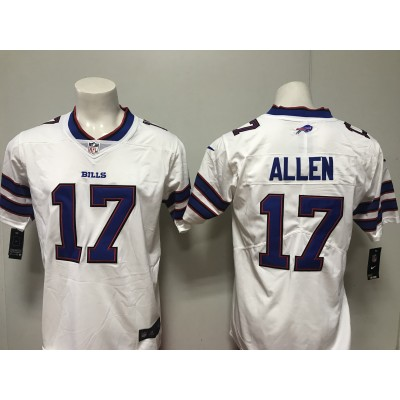Nike Bills 17 Josh Allen White Vapor Untouchable Limited Women Jersey
