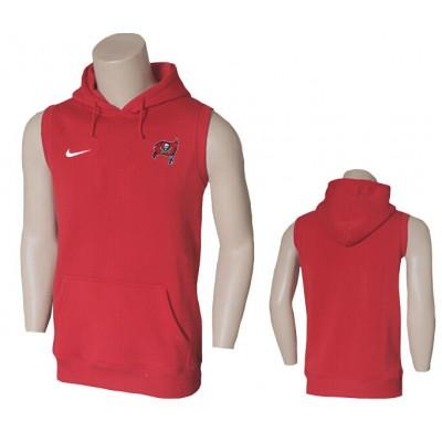 Nike Tampa Bay Buccaneers Red Sideline Sleeveless Flannelette Weskit