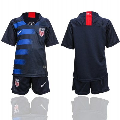 2018-19 USA Away Soccer Youth Jersey
