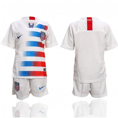 2018-19 USA Home Soccer Youth Jersey