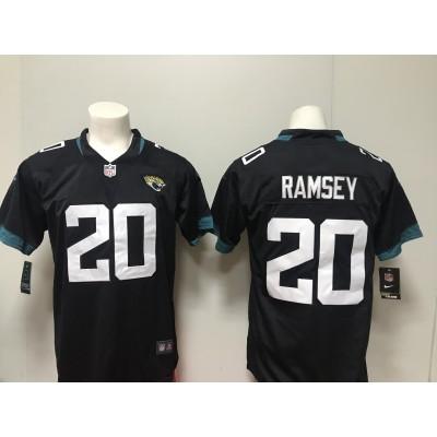 Nike Jaguars 20 Jalen Ramsey Black 2018 Vapor Untouchable Limited Women Jersey