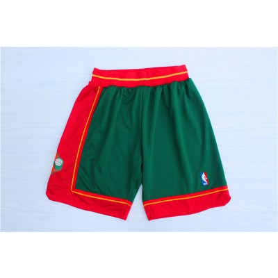 NBA SuperSonics Green 1995-96 Hardwoodclassics Shorts