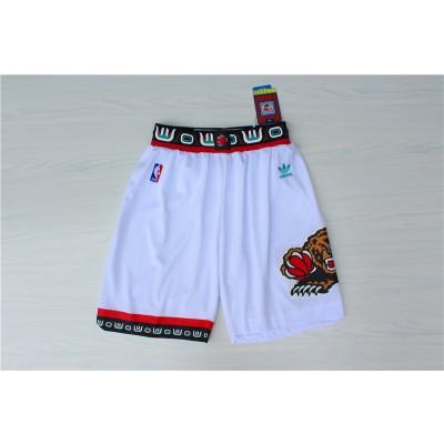 NBA Grizzlies White Hardwood Classics Shorts