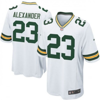 Nike Green Bay Packers 23 Jaire Alexander White Youth Jersey