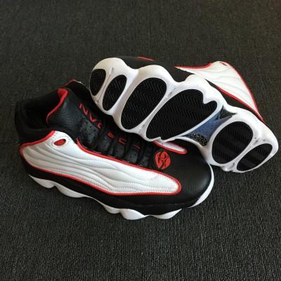 Air Jordan 13.5 Pro Strong White Black Red Shoes