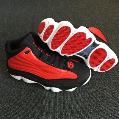 Air Jordan 13.5 Pro Strong Black Red Shoes