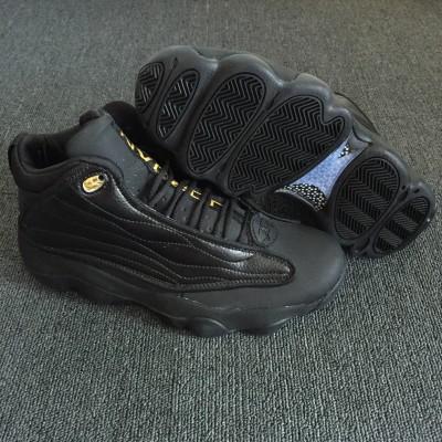 Air Jordan 13.5 Pro Strong All Black Shoes