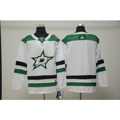 NHL Stars Blank White Adidas Men Jersey