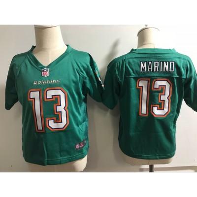 Nike Dolphins 13 Dan Marino Aqua NFL Toddler Jersey