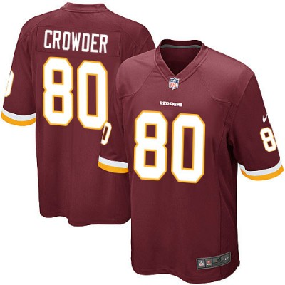 Nike NFL Redskins 80 Jamison Crowder Burgundy Youth Jersey