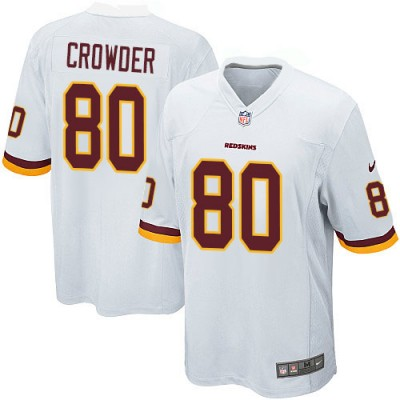 Nike NFL Redskins 80 Jamison Crowder White Youth Jersey