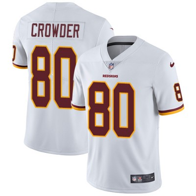 Nike NFL Redskins 80 Jamison Crowder White Vapor Untouchable Youth Jersey