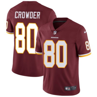 Nike NFL Redskins 80 Jamison Crowder Red Vapor Untouchable Youth Jersey