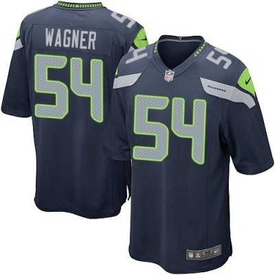 Nike Seattle Seahawks 54 Bobby Wagner Blue Youth Jersey