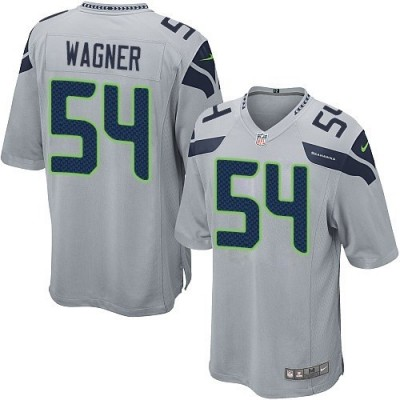 Nike Seattle Seahawks 54 Bobby Wagner Grey Youth Jersey