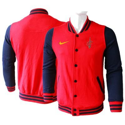 NBA Cleveland Cavaliers Blank Red Navy Nike Wool Jacket