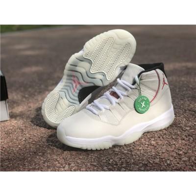 Air Jordan Retro 11 Platinum Tint White Shoes