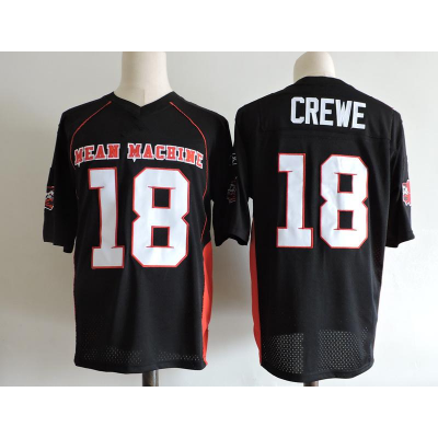 Mean Machine 18 EJ Paul Crewe The Longest Yard Movie Football Men Jersey