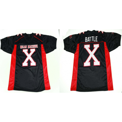 Mean Machine Battle X Longest Yard Movie Men Football Jersey