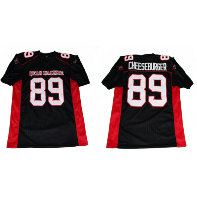Mean Machine 89 cheeseburger edd The Longest Yard Movie Football Men Jersey