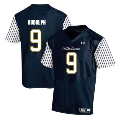 NCAA Notre Dame Fighting Irish 9 Kyle Rudolph Navy College Football Men Jersey