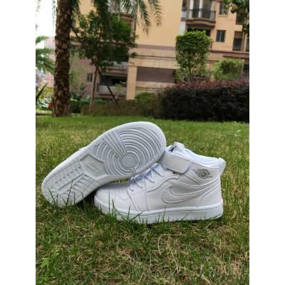 Air Jordan 1 White Kids Shoes