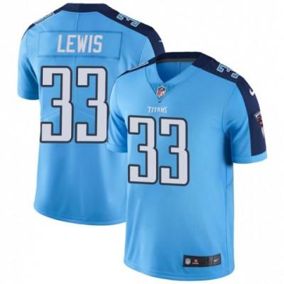 Nike Titans 33 Dion Lewis Light Blue Vapor Untouchable Limited Men Jersey