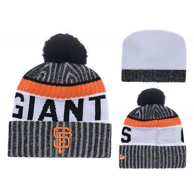 MLB Giants Team Logo Knit Hat YD