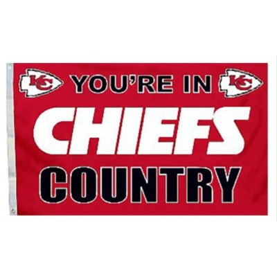 NFL Kansas City Chiefs Team Flag   3