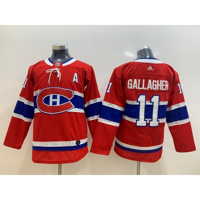 NHL Canadiens 11 Brendan Gallagher Red Adidas Youth Jersey