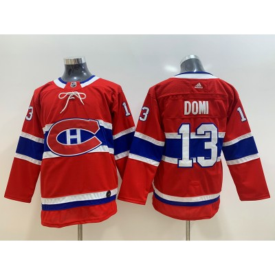 NHL Canadiens 13 Max Domi Red Adidas Youth Jersey