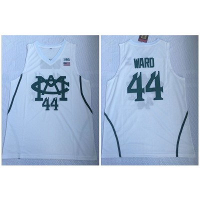 NCAA Michigan State Spartans 44 Nick Ward White College Basketball Men Jersey