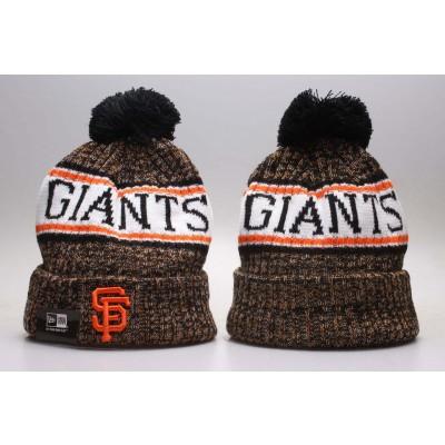 MLB Giants Fresh Logo Fashion Knit Hat YP
