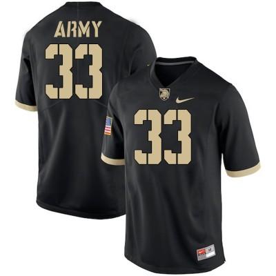 NCAA Army Black Knights 33 Darnell Woolfolk Black College Football Men Jersey