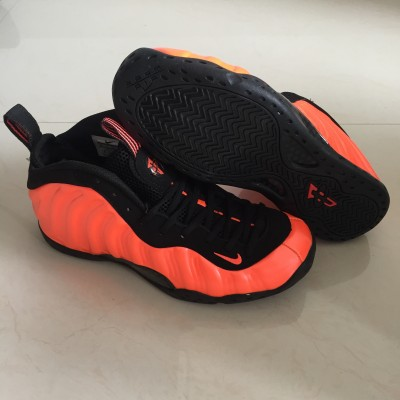 Nike Air Foamposite Pro Hardaway Orange Silk Shoes