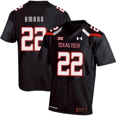 13c37f2149b NCAA Texas Tech Red Raiders 22 Jace Amaro Black College Football Men Jersey