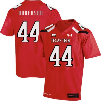 NCAA Texas Tech Red Raiders 44 Donny Anderson Red College Football Men Jersey