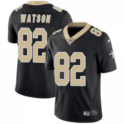 Nike Saints 82 Benjamin Watson Black Vapor Untouchable Limited Men Jersey