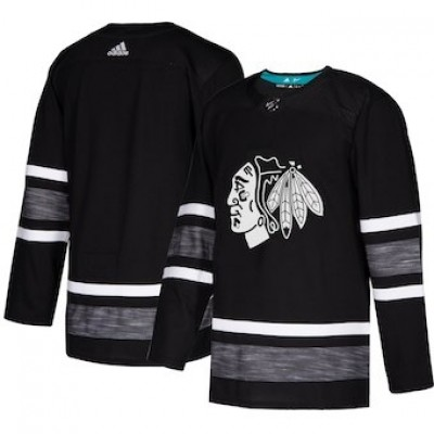 NHL Blackhawks Black 2019 NHL All-Star Game Adidas Men Jersey