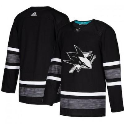 NHL Sharks Black 2019 NHL All-Star Game Adidas Men Jersey