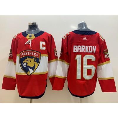 NHL Panthers 16 Aleksander Barkov Red Adidas Men Jersey