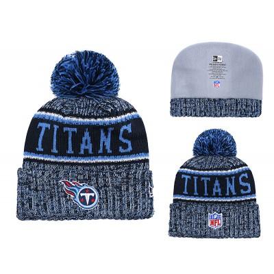 NFL Titans Team Logo Blue Knit Hat YD