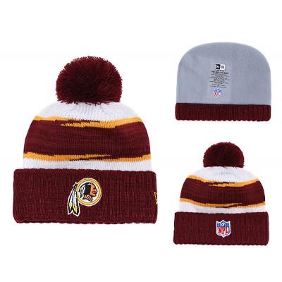 NFL Redskins Fresh Logo Burgundy Knit Hat YD