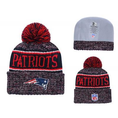 NFL Patriots Team Logo Red Knit Hat YD