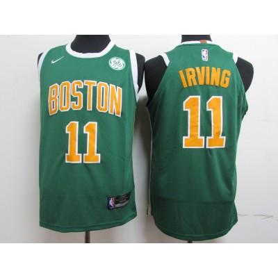 NBA Celtics 11 Kyrie Irving Green Nike Men Jersey