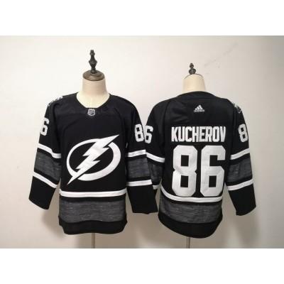 NHL Lightning 86 Nikita Kucherov Black 2019 All-Star Game Adidas Men Jersey