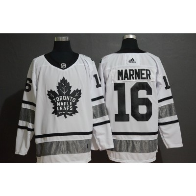 NHL Leafs 16 Mitchell Marner White 2019 All-Star Game Adidas Men Jersey