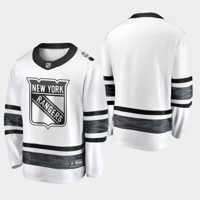 NHL Rangers White 2019 All-Star Game Adidas Men Jersey